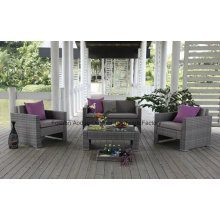 Fashion Outdoor Rattan Wicker Sofa in Garden Set