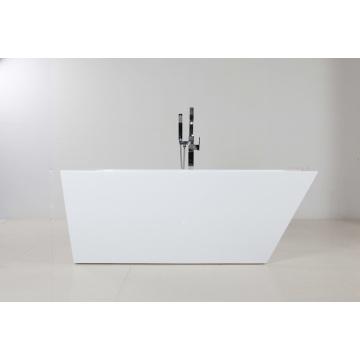 Hermosa bañera de pie de acrílico de interior