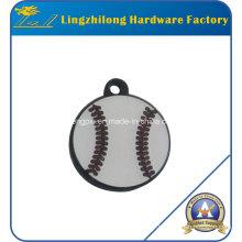 Enamel Filling Baseball Design Charm