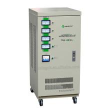Настраиваемая серия Tns-15k с тремя фазами Полностью автоматический регулятор напряжения переменного тока / стабилизатор