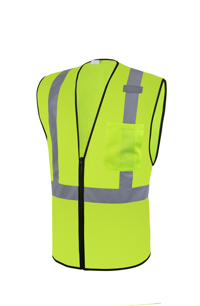 Construction Hi Vis Safety Workwear Vest
