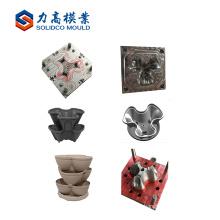 Fabricación contemporánea del molde del jardín de la inyección plástica del producto de China de la maceta