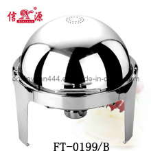 Upscale Hotel Supplies Stainless Steel Round Chafing Dish (FT-0199B)
