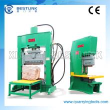 Máquina hidráulica del bloque de pavimentación para el granito