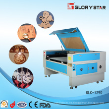 Máquina de corte y grabado láser de acrílico