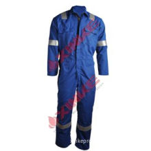 Nfpa2112 Cotton Fire Resistant Safety Clothing with Reflective Tapes