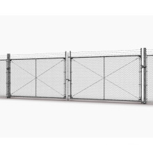Low price used chain link fence panels