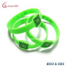 Bar Code Design Silicone Bracelet for Promotion
