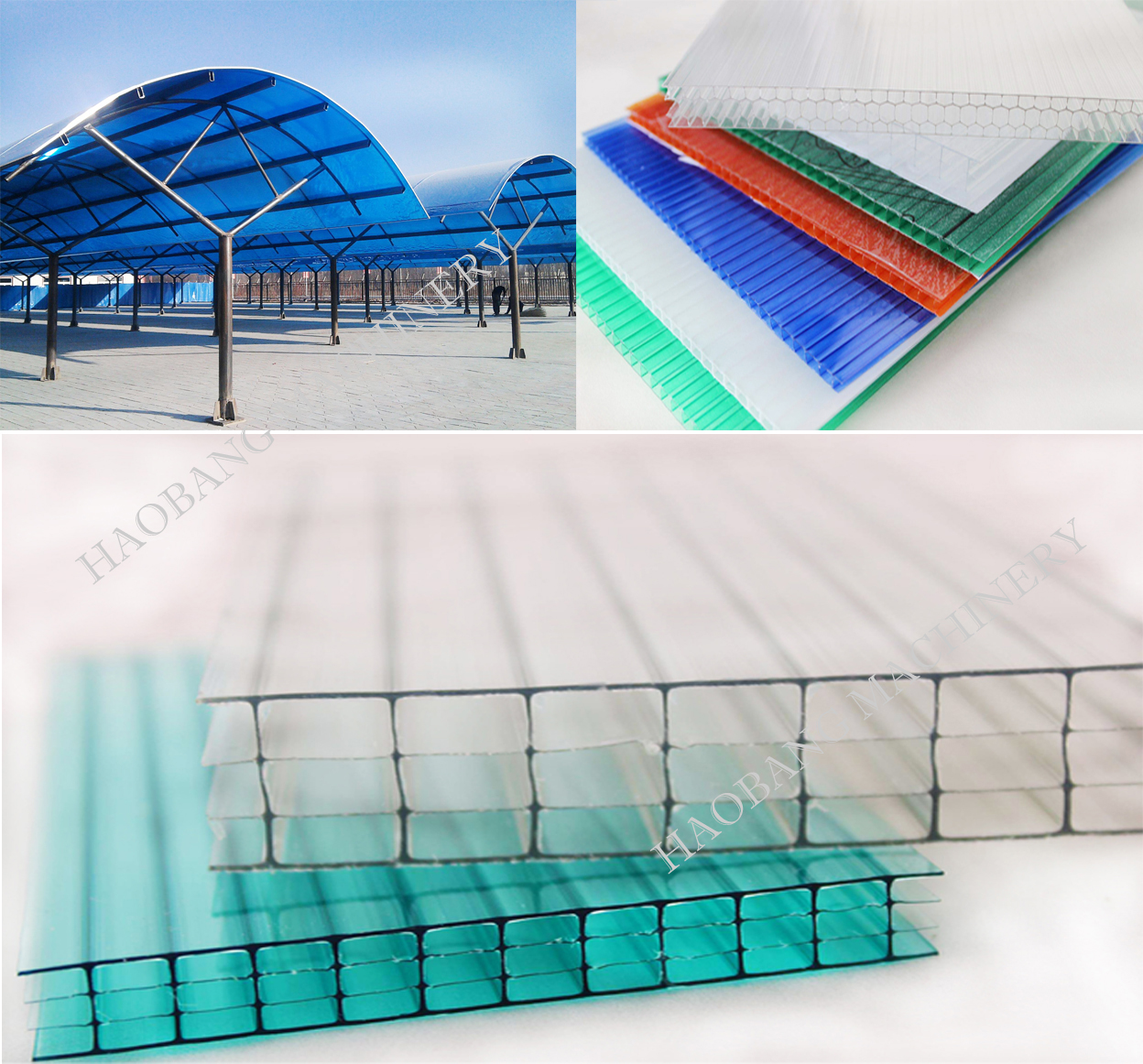 PC PP hollow sheet product (2)