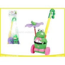 Push Pull Toys Frog Plasit Toys