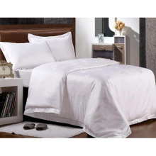 New Collection Bed Modern Style Bed Plain White Hotel/Home Bedding Set (WS-2016005)