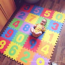 Alphabet Numbers LARGE Foam EVA Kids Baby Play Interlocking GYM Puzzle Floor Mat