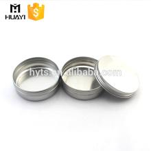 Hot sale 10g 15g Small Aluminum Cans Cream Empty Aluminum Jar in small moq