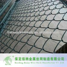 Galvanizado y recubierto de PVC Chain Link Fence Fabricante
