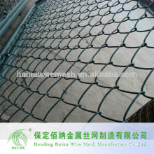 Galvanized and PVC Coated Chain Link Fence Manufacturer