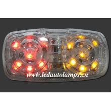 Lámpara de señalización lateral LED para camiones