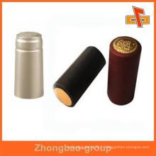 Étiquette d'étanchéité thermique anti-effraction thermosensible à l'épreuve de l'eau pour emballage de bouchon de bouteille