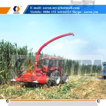 Ensileuse d'ensilage de 2200mm, moissonneuse de fourrage de maïs montée par tracteur