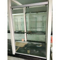 Verre de porte de douche (SD-300 en aluminium blanc)