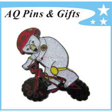High Quality Custom Metal Souvenir Lapel Pin with Epoxy (badge-046)