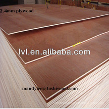 Hot sell 1220*2440*2.4mm plywood for Algeria market