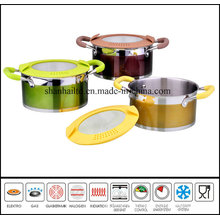 Color Casserole Sauce Pot