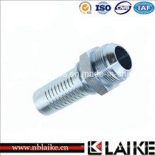 Male Jic Thread 74 Degree Hydraulic Swagelok Tube Fittings