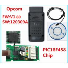 Nueva versión V1.60 para Opel OBD2 Opcom con Chip Pic18f458