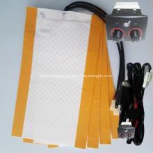 Toyota Land cruiser carbon fiber car seat heater
