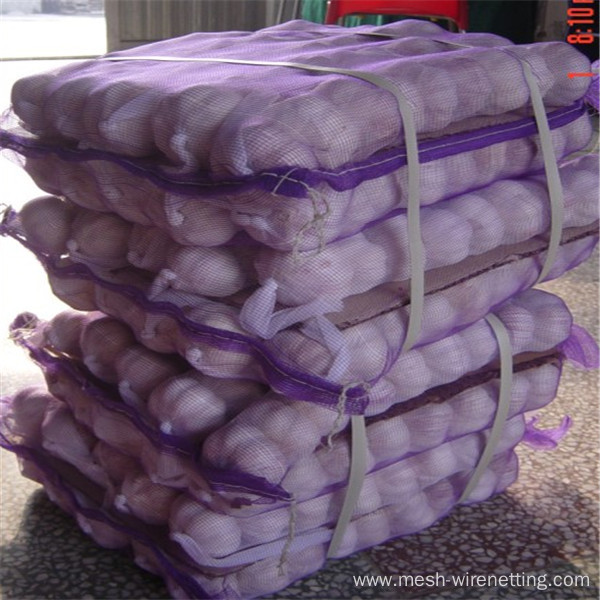 hdpe recycled material onion bag netting