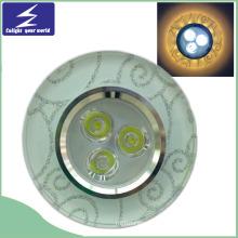 3W 85-265V Kristall LED Decke unten Licht