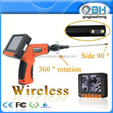 portable borescope endoscope inspection snake camera side view camera