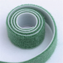 elastic adhesive backed hook loop