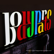 Double Sided Wall Led Light 3D Backlit Logo Sign Mini Letter