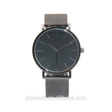 Build Brand Your Own Watches Minimal Mesh Mens Simple Stylish Black Watches