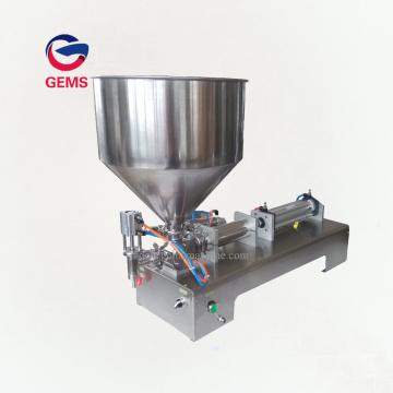 Machine de remplissage de crème pour le corps Machine de remplissage de tubes de dentifrice