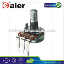 16K6 Vertical type 16MM linear taper 5k ohm volume slide potentiometer