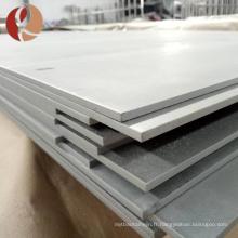 Haut prix élastique de plaque d'alliage de zirconium molybdène par kilogramme