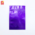 Aluminum zipper bag for food packaging
