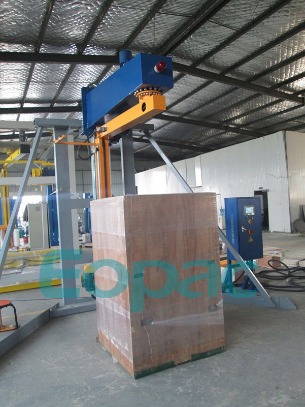 Arm packaging machinery
