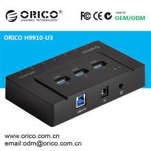 ORICO H9910-U3 7 puertos USB2.0 con puerto USB3.0 de 3 puertos