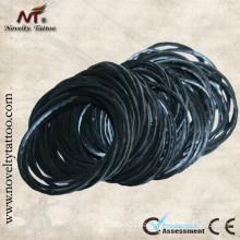 N201021 Black rubber bands