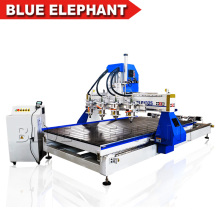 Multi-purpose cnc engraving machine / 3d multi head cnc router