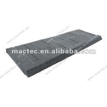 Tuile de bardeau de toiture enduite de pierre