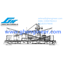 Transshippers Floating Cargo Crane