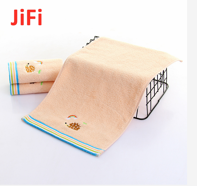 Kids Baby Hot Selling Pretty Design Soft Cotton Face Towel 2