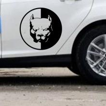 Diseño promocional Autoadhesivo Etiqueta engomada del lado del cuerpo del coche Etiqueta troquelada del coche
