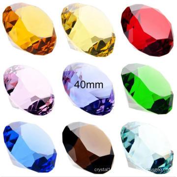Cristal de diamant en gros pour la décoration de lieu de mariage