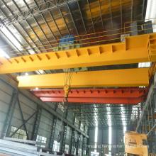 Electric magnetic double girder lifting bridge crane