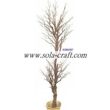 Latest White Silver Gold Artificial Branch Tree For Wedding Decoration 175CM